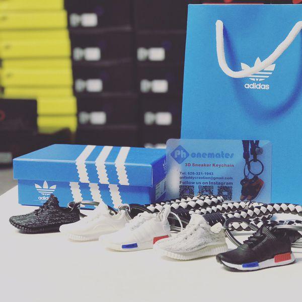 ca9b64721aa8a9 Handcrafted mini sneaker 3d keychain air Jordan yeezy350 for Sale in ...