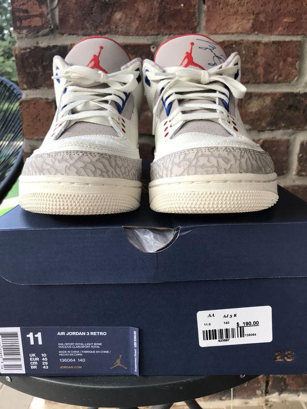 9052d07aa014a2 Air Jordan 3 International. Size 11. Original box and wrapping! Cypress ...