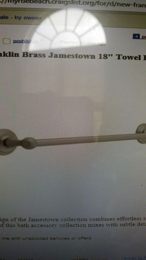 New towel bar for Sale in Myrtle Beach, SC