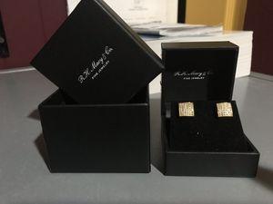 Macy's diamond earrings for Sale in Ashburn, VA