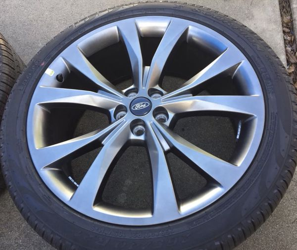 Inch Ford Edge Sport Mkx Oem Factory Wheels Rims Tires  Auto Parts In Chicago Il Offerup