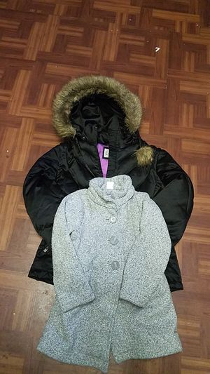 Girls coats for sale sizes one large, one extra small, 5-6 and 7,8 $15 each for Sale in Alexandria, VA