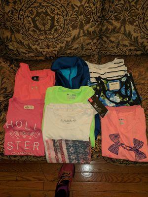 10-12 y.o. girl clothes. Sport and school.T- shirts, sweatshirts, Cami, long sleeve shirts, hoody. for Sale in Ashburn, VA