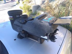 Hayward EcoStar pool pump $400 pump and motor housing just needs new replacement motor (250 approx motor replacement cost) for Sale in San Clemente, CA