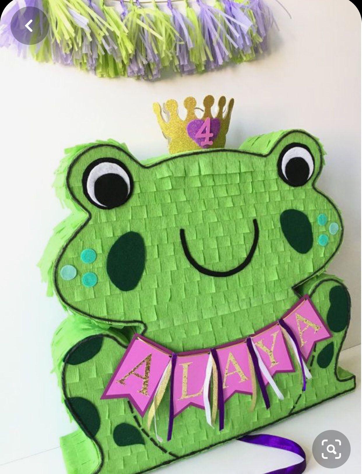 Princess of frog piñata