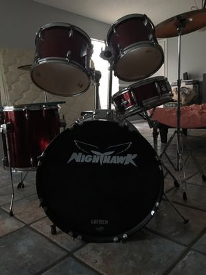 Full Nighthawk Drum set (double kick pedal) for Sale in Orlando, FL