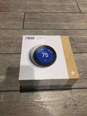 Nest Thermostat Brand new never opened for Sale in Lanham, MD