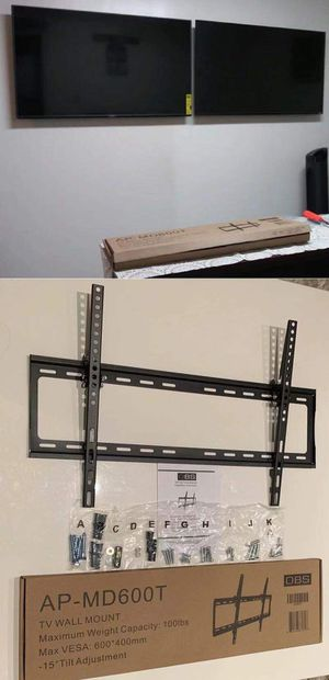 """Photo New LCD LED Plasma Flat Tilt TV Wall Mount stand 32 37"""" 40"""" 42 46"""" 47 50"""" 52 55"""" 60 65"""" inch tv television bracket 100lbs capacity"""