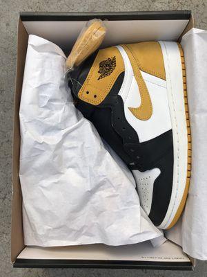 Jordan 1 yellow ochre men's size 8.5 for Sale in San Diego, CA