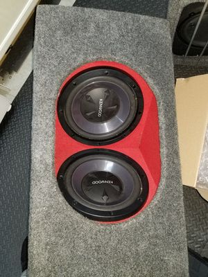Photo JL Audio dual 12 subwoofer box for sale!