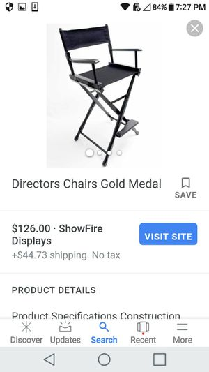 Director chair for Sale in Columbus, OH