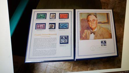 Franklin Roosevelt Stamp Thumbnail