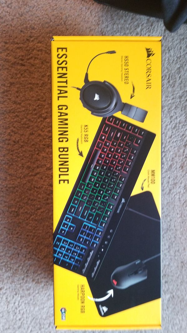 Corsair Essential Gaming Bundle for Sale in Olympia, WA - OfferUp