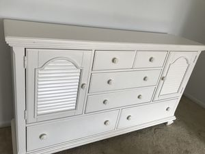 All White Chic Dresser for Sale in Odenton, MD