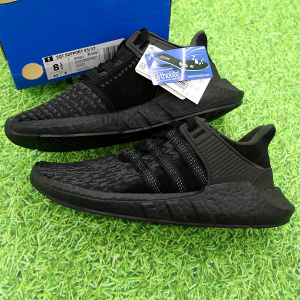 on sale 2832f 9692d DS ADIDAS EQT SUPPORT 93/17 TRIPLE BLACK FRIDAY ULTRA BOOST NMD Men's SZ  8.5 for Sale in Las Vegas, NV - OfferUp