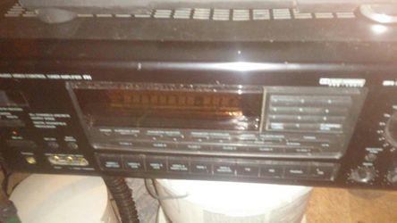 Onkyo audio video control tuner amplifier Thumbnail