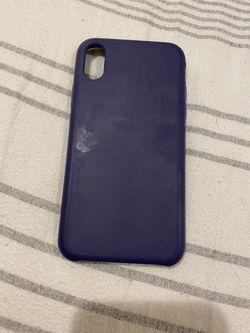 Silicon iPhone X Case Thumbnail