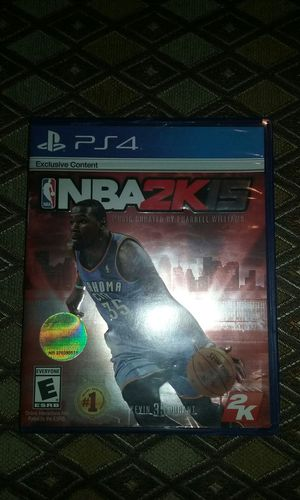 NBA 2k16 PS4 for Sale in Charlotte, NC