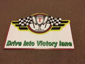 Racing Victory Lane Standee party Decoration for Sale in Huddleston, VA