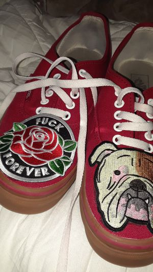 custom vans size 10 for Sale in Chapel Hill, NC