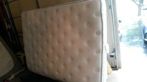 Like new queen pillow top mattress for Sale in Silver Spring, MD