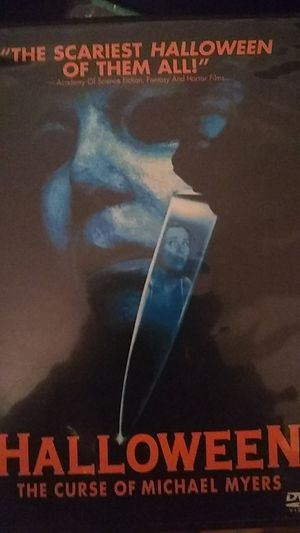 Photo Halloween the curse of Michael Myers DVD