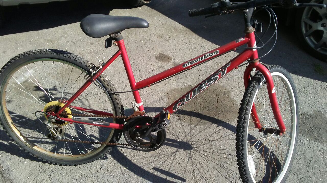 Bicycleta de marca lista para pasear solo $ 25 dolares rodado 26