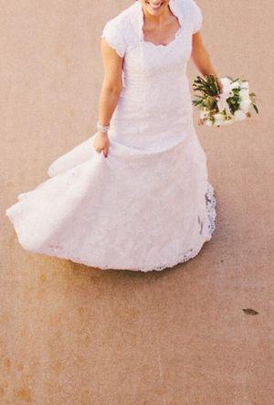 Wedding Dress - Lace for Sale in Scottsdale, AZ