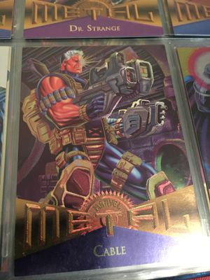Cable marvel Cards and two bonus Cable Comics!! Fantastic condition!! for Sale in Atlanta, GA