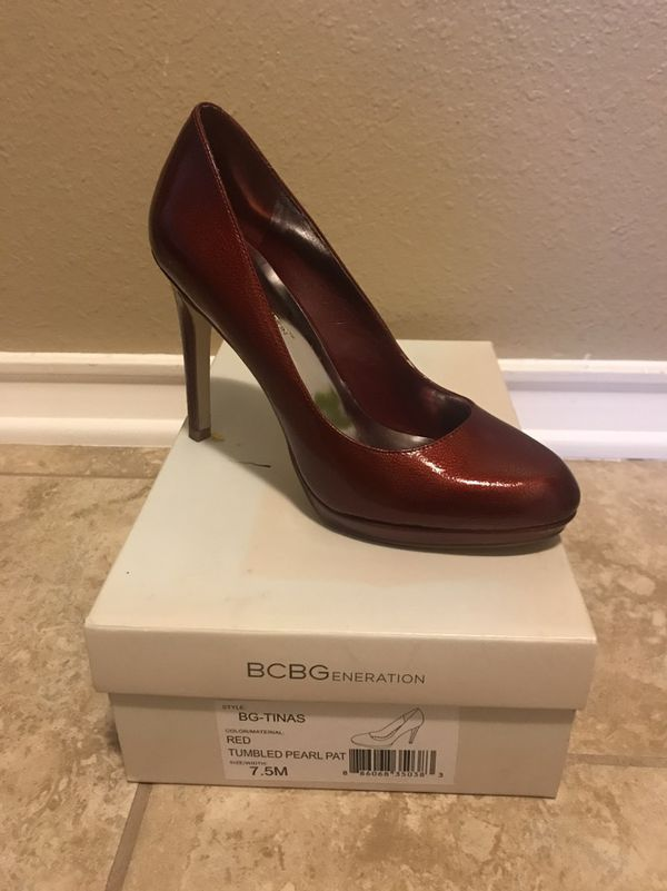 c0f2ad8120b1 Patent Red BCBG Heels- Size 7.5 for Sale in Corpus Christi