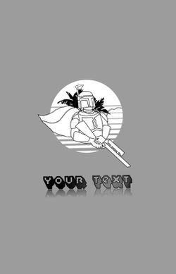 Customizable Mandalorian Poster Thumbnail
