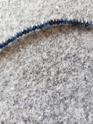 14kt and sapphire necklace for Sale in Manassas, VA