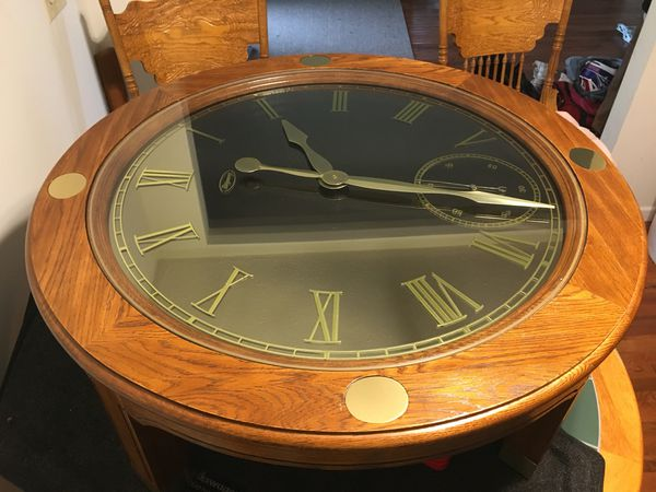 Ridgeway Clock Coffee Table For In