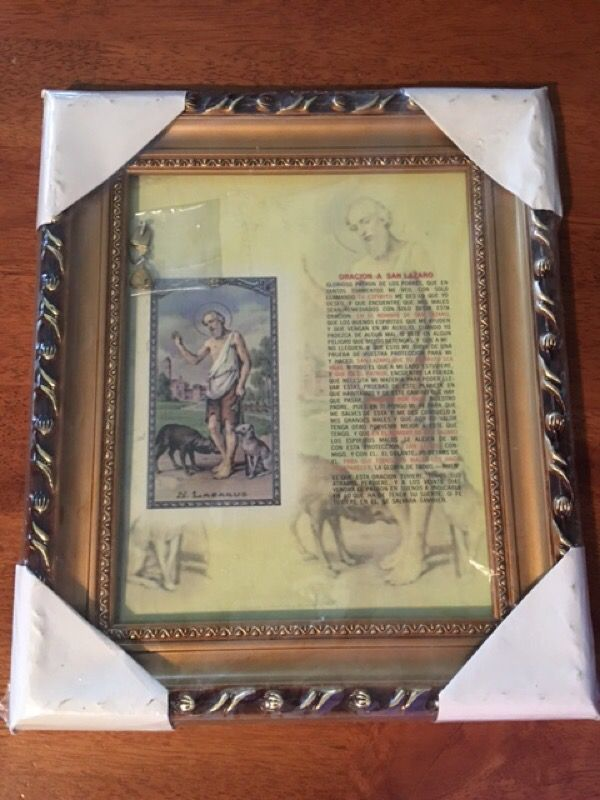 Santa Barbara San Lazaro And Guadalupe Picture Frames For Sale In