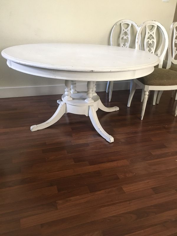 Inch Round Solid Wood Table With Chairs For Sale In Fort Worth - 56 inch round table