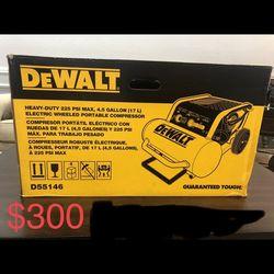 4.5 Gal. Portable Electric Air Compressor by DEWALT Thumbnail