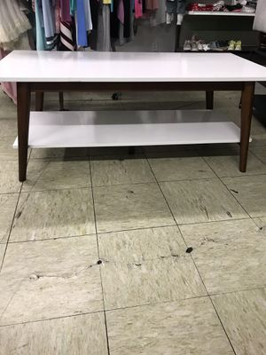 23f8461c293 Amherst Mid Century Modern Two-Tone Coffee Table -White Brown - Project 62