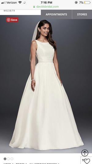 Wedding dress - never worn for Sale in Henrico, VA