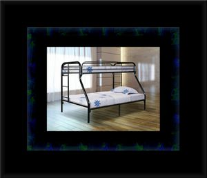 Full Twin bunkbed frame for Sale in Fairfax, VA