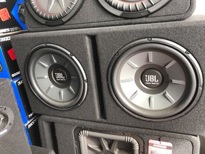 """Photo JBL STAGE 1220B 2 dual 12"""" subwoofer woofer bass audio box enclosure ported 2000 watts"""