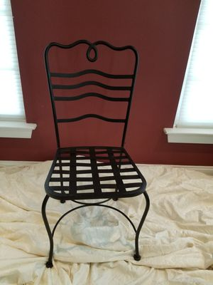 Solid cast iron chair. Pretty heavy for Sale in Clarksburg, MD