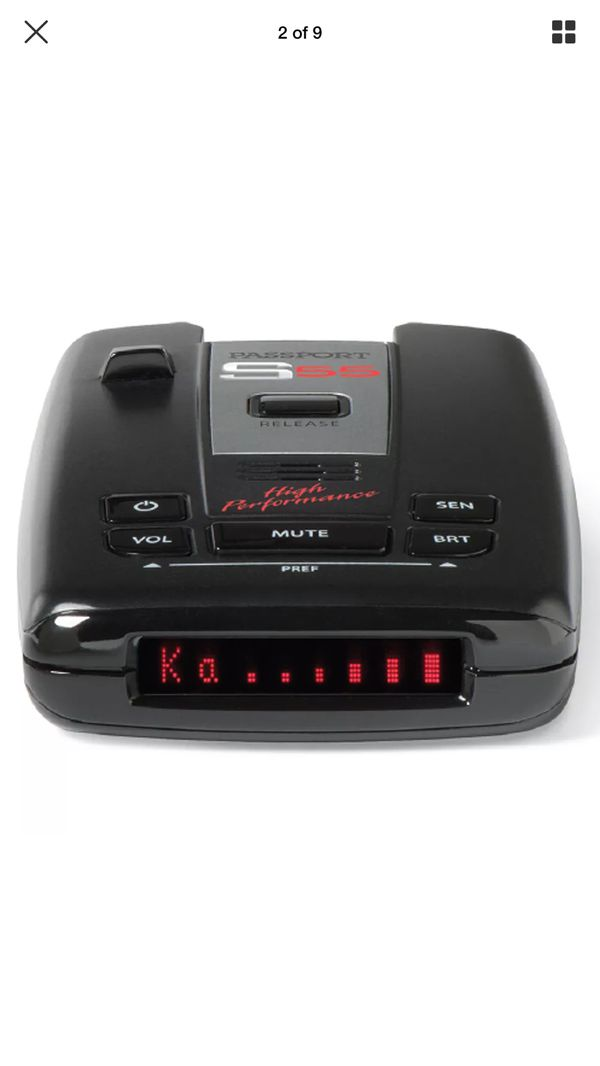 Passport Radar Detector >> S55 Passport Radar Detector For Sale In Olympia Wa Offerup
