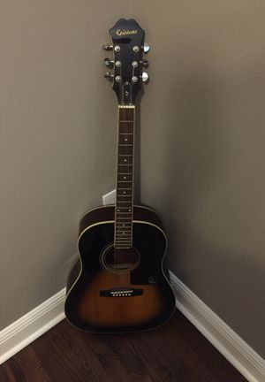 Epiphone AJ 200S VS acoustic guitar for Sale in Orlando, FL