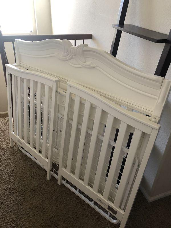 White Baby Crib For Sale In Menifee, CA