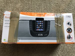 iLive Music System for iPod or older iPhone for Sale in Blawnox, PA