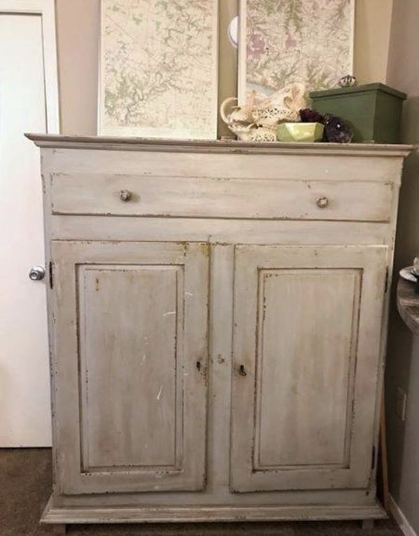 Large Authentic Primitive Antique Cabinet w/Keys (Furniture) in Cincinnati,  OH - OfferUp - Large Authentic Primitive Antique Cabinet W/Keys (Furniture) In