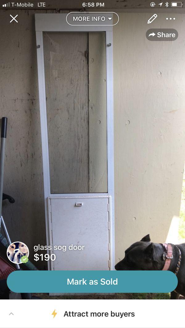 Xl Dog Door For Sliding Glass Door For Sale In Wahiawa Hi Offerup