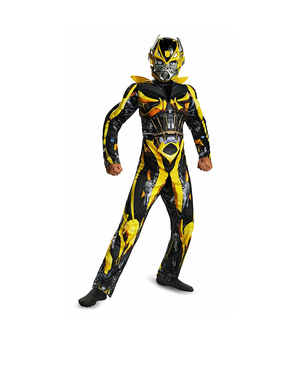 Transformers Bumblebee Halloween costume boys xs 4-6 for Sale in Pittsburgh, PA
