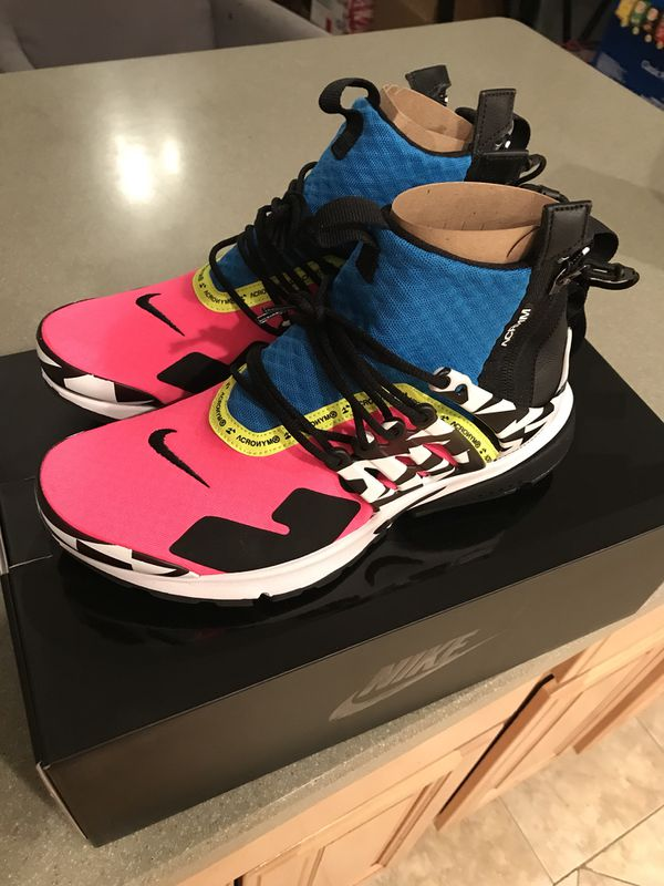 official photos 61a16 6bc2e Nike Air Presto x acronym racer pink