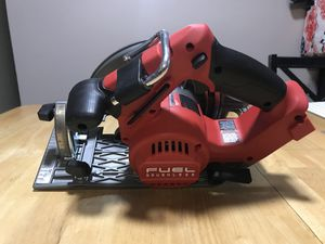 Milwaukee Fuel circular saw 7 1/4 for Sale in Silver Spring, MD